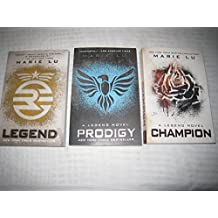 Marie Lu's Legend Trilogy Books 1-3 in the Series (Set Includes: Legend, Prodigy and Champion)