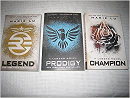 Book Marie Lu's Legend Trilogy Books 1-3 in the Series (Set Includes: Legend, Prodigy and Champion)