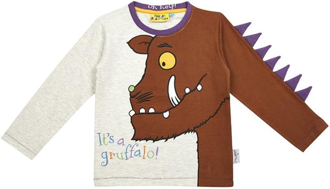 Kid s Spike, diseño de Gruffalo Camiseta de Manga Larga de Tela Flavours