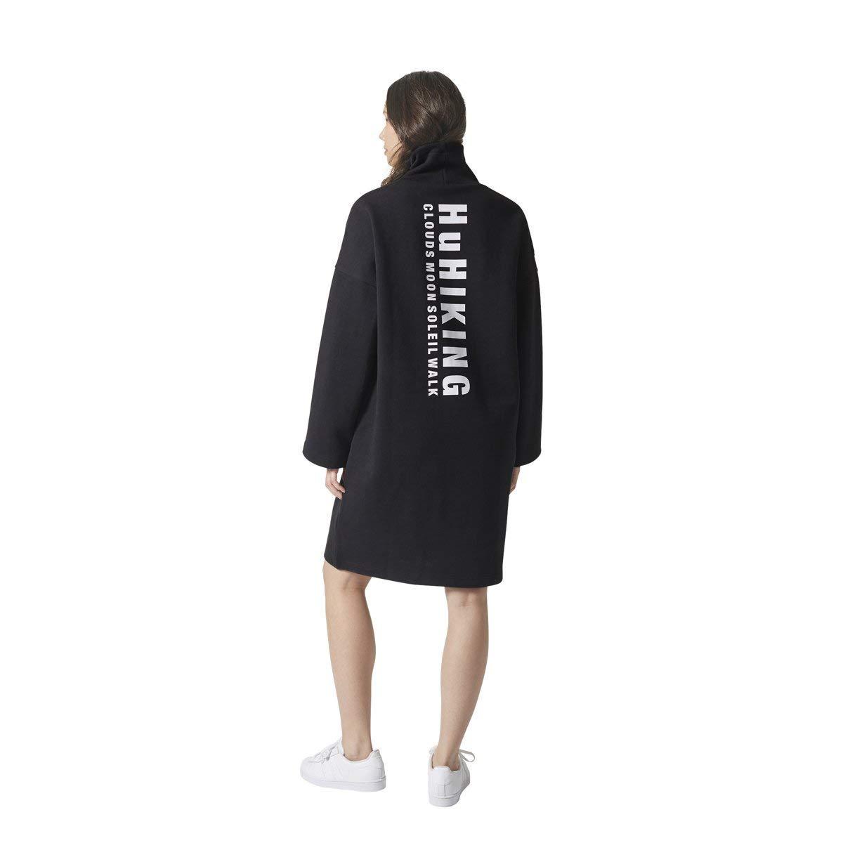 dc6da455ca4 adidas Women's Originals Pharrell Williams hu Hiking Dress CY7516 - Black  -: Amazon.co.uk: Clothing