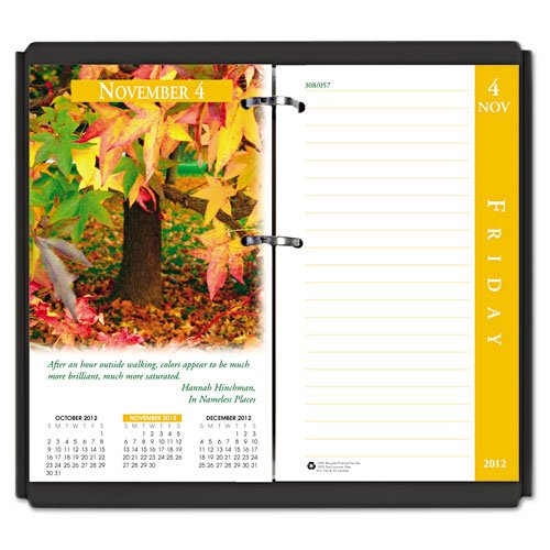- House of Doolittle Earthscapes Desk Calendar Refill 12 Months, January 2013 to December 2013, 3.5x6 Inch, Fits Standard #17 Base, Recycled (HOD417)