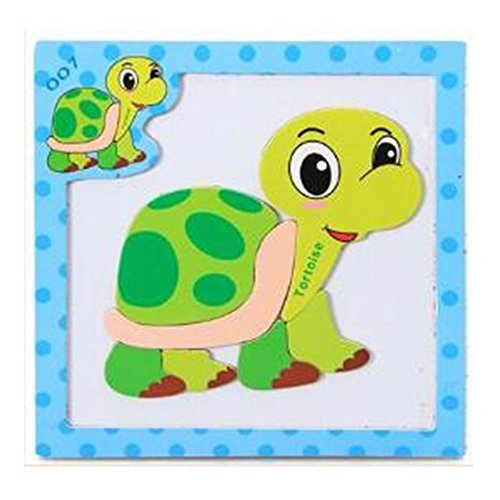 - Magnetic Tortoise Puzzle for Toddlers and Kids Ages 3 Years and Up - 7 Magnet Pieces Set on 6x6 Board - Great Travel Activity on Airplanes, Cars, Restaurants or Home.