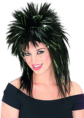 Superstar Wig Costume Accessory (80s Group Costumes)