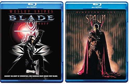 Spawn + Blade Blu Ray movie Set - Super dark Fantasy Series vampire + Devil