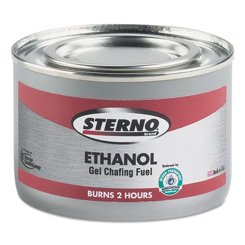STE20108 - Ethanol Gel Chafing Fuel Can, 182.4g by Sterno