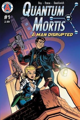 Book cover from Quantum Mortis a Man Disrupted #1: By the Book by Vox Day