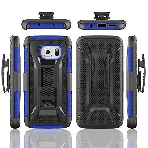 best service 898c8 6bb3e Amazon.com: Galaxy S7 Edge Case,PT Hard Shell [Heavy Duty][Dual ...