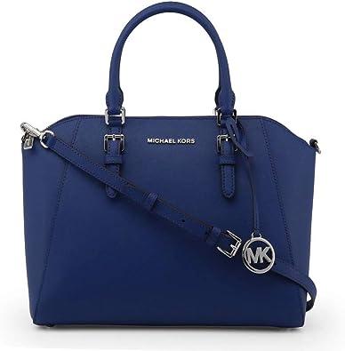 Michael Kors Ciara Large Top Zip Saffiano Leather Satchel