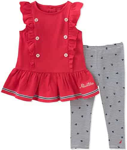 Nautica Little Girls' Leggings Set
