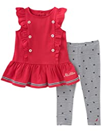 Little Girls' Leggings Set