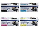 Brother TN336BK, TN336C, TN336M, TN336Y High Yield Black, Cyan, Magenta and Yellow  Toner Cartridge Set