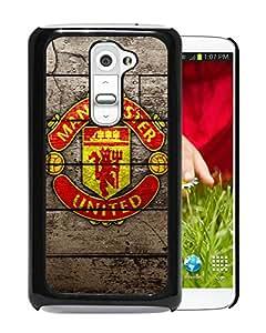 Popular Custom Designed Cover Case For LG G2 With Manchester United Black Phone Case 7