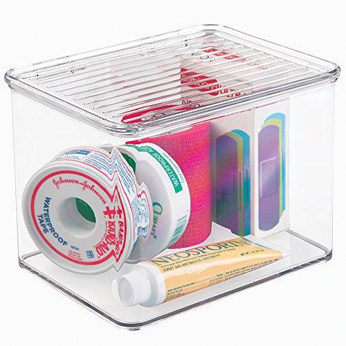 mDesign Storage Organizer Medicine Supplies