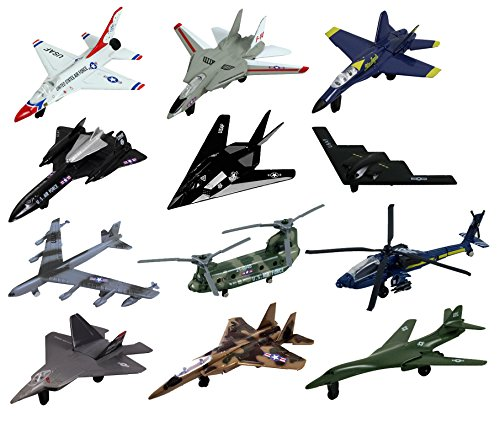InAir Modern Planes 12 Piece Set - Assortment 1 & Assortment 2 ()