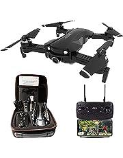 IDEA21 Drone met Camera 4k HD GPS 5GHz WIFI FPV voor Beginner Volwassen Kinderen, 120-groothoekcamera Drone RC Quadcopter Kit onder 250 Gram for Adult Kind
