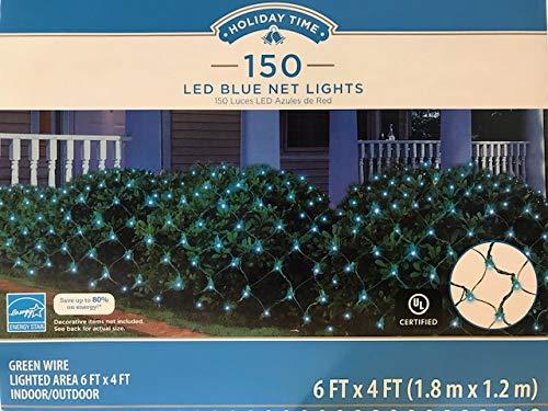 150 Blue Led Net Lights