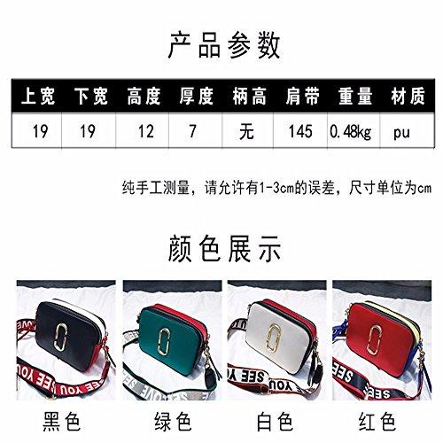 Borsa Gaoqiangfeng Donne Sacchetto Spalla 's Bianco Coreane Di Singolo Estate Rosso In Nuova 6XzWOxxvwq