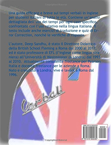 Buy I Tempi Verbali In Inglese The Tense System In English Una
