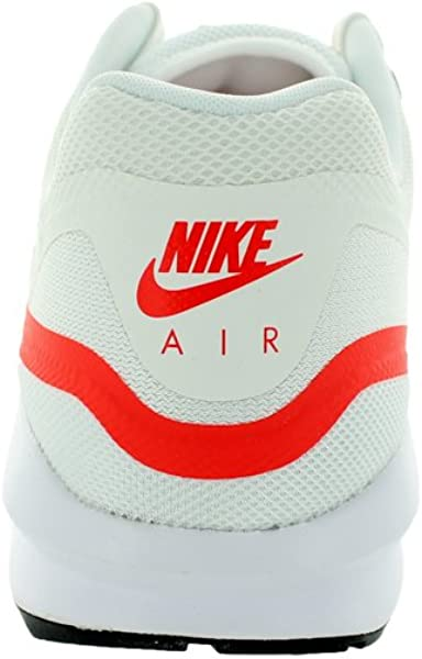 272a84a545 Amazon.com | Nike Air Max Lunar1 654469-102 White/Wolf Grey/Crimson ...