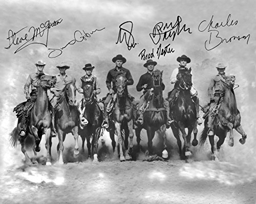 Magnificent 7 Seven 8 X 10 Photo Western Movies and 1950s Tv Star