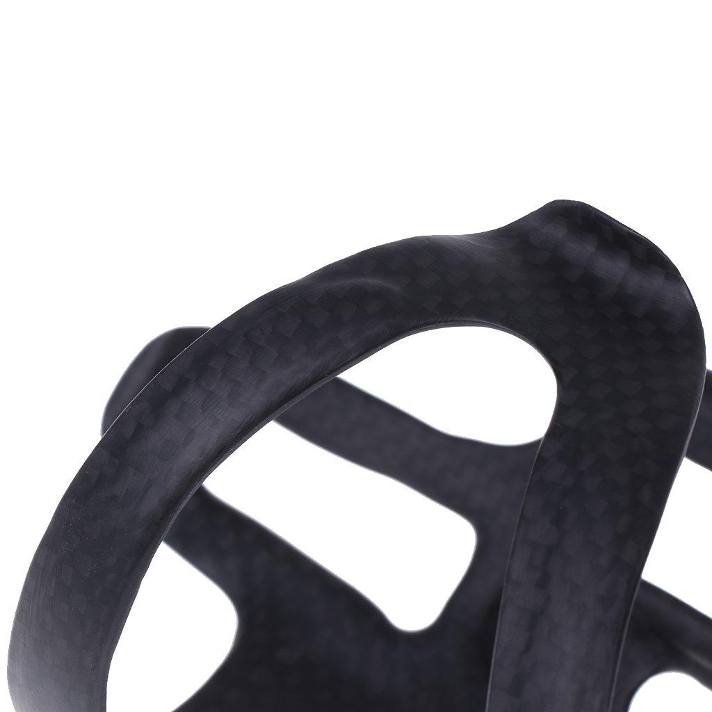 Portabotellas de Carbono para Bicicleta Kit de Jaula Abierta Lateral Ajustable 1 Brucelin