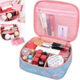 MKPCW Travel Makeup Bag Cosmetic Bag Case Toiletry Bag for Women Deal