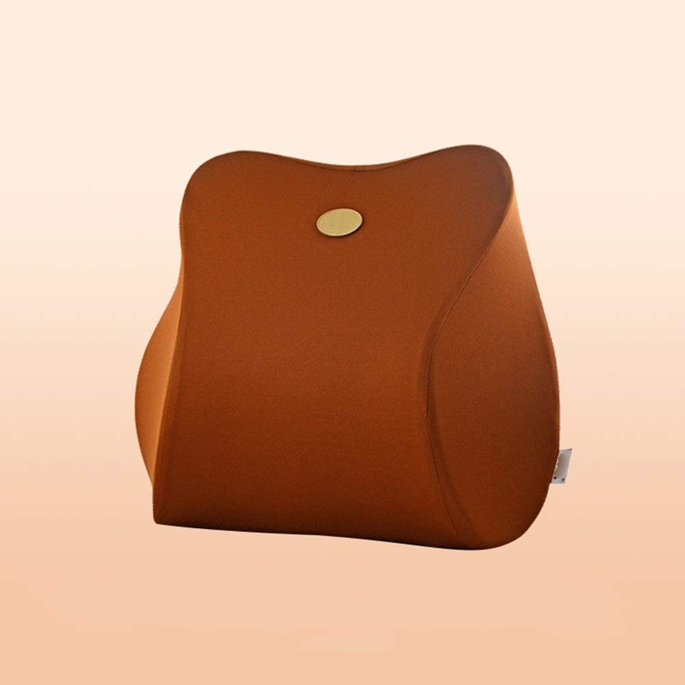 TTVUSGDW Car Back Support Filling Space Memory Cotton Breathable Great Xmas (Color : Brown, Size : 40 X 12 X 39CM) by TTVUSGDW