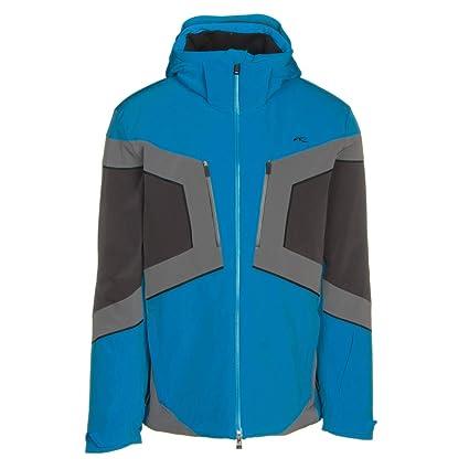 Kjus Speed Reader Mens Insulated Ski Jacket - Medium Aquamarine Blue-Dark  Dusk 44d95f847