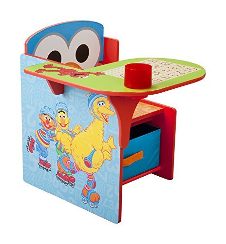 Delta Children Chair Desk With Storage Bin Sesame Street