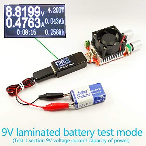 USB Multímetro,USB Detector Voltímetro Amperímetro Tester Voltaje,Temperatura,Corriente