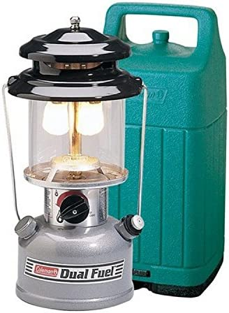 Coleman Dual Fuel 2 Mantle 285 Lantern with Hard Case