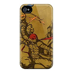 Excellent Hard Phone Cover For Iphone 6 With Allow Personal Design Fashion Ninja Turtles Skin ErleneRobinson
