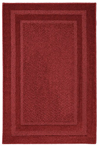 Mohawk Home 6915 383 020034 Smart Strand Accents Jamison Chili Pepper Rug, 1'8