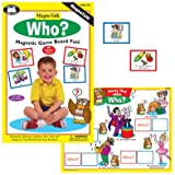Magnetic ''Who?'' Board Game - Super Duper Educational Learning Toy for Kids