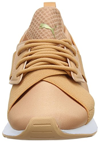 Muse Mujer Coral Wn's dusty Para Puma Naranja Coral dusty Zapatillas Satin Ep YqtUdz