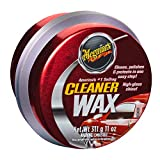 Meguiar's Cleaner Wax - Paste Wax Cleans, Shines and Protects in One Easy Step - A1214, 11 oz