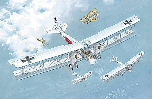 Heavy Bomber Kit - Roden Gotha G.IV German Heavy Bomber Airplane Model Kit
