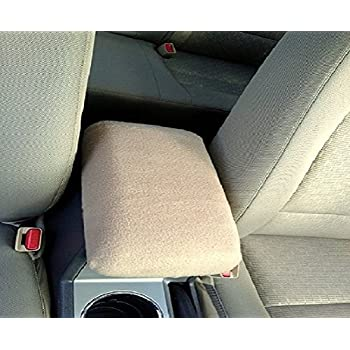 Car Console Covers Plus fits Chevy Traverse 2018-2019 Fleece Center Armrest Cover for Center Console Lid Made in USA