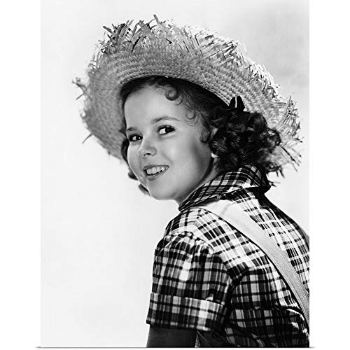 (GREATBIGCANVAS Poster Print Entitled Shirley Temple in Rebecca of Sunnybrook Farm - Vintage Publicity Photo by 30