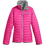 The North Face Girl's Reversible Mossbud Swirl Jacket - Petticoat Pink - XL (Past Season)
