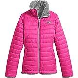 The North Face Girl's Reversible Mossbud Swirl Jacket - Petticoat Pink - L (Past Season)