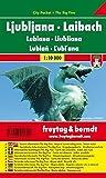 Ljubljana City Pocket Map 1:10K (Slovenia) (English and German Edition)