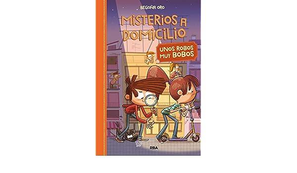 Amazon.com: Misterios a Domicilio#6. Unos robos muy bobos ...