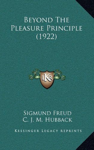 Beyond The Pleasure Principle (1922) PDF