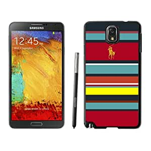 Newest Samsung Galaxy Note 3 Case ,Lauren Ralph Lauren 17 Black Samsung Galaxy Note 3 Screen Case Unique And Durable Custom Designed Cover Case