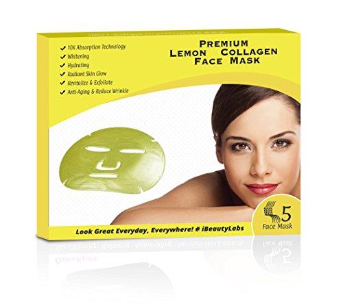 Power of Lemon Korean Face Mask | Blackhead Treatment | Skin Tone | Anti Bacterial Acne/Pimple.