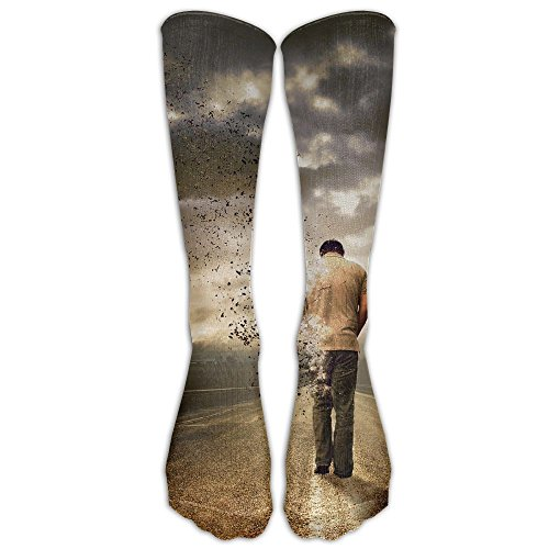 Creative Man Art Rode Long Dress Socks Football Sports Socks Casual Over-the-Calf - Rode Lincoln