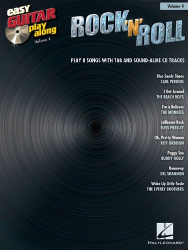 Rock 'N' Roll - Easy Guitar Play-Along Volume 4 (Roll Easy Guitar Book)