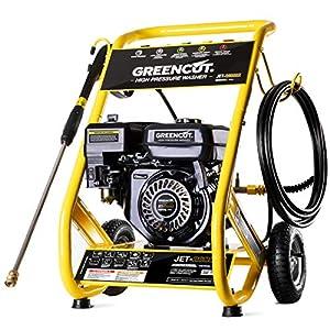 EBERTH 6,5 CV Hidrolimpiadora de alta presión a gasolina (210 bar ...