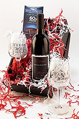 Hearts Desire Washington Red Blend Wine Gift Set, 1 x 750 mL from Naked Winery